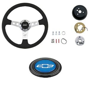 Grant Collector s Steering Wheel installation Kit blue Chevy Horn Button For C k
