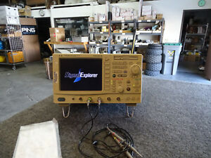 Yokogawa Dl7100 Digital Oscilloscope 4 Channel 500 Mhz 1gs s W 2 New Probes