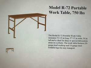 Knaack Industrial Work Bench Portable Used Twice Flawless