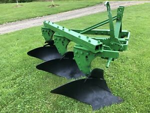 3 Bottom Plow 14 Inch Plow For 3 Point Hitch