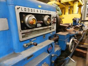 Lodge And Shipley M35 Engine Lathe 21 Chuck 96 Between Centers 480 3ph