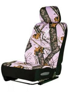 Browning Pink Mossy Oak Camo Camouflage Seat Cover Auto Accessories Truck Car