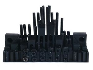 58 Pcs T slot Clamping Kit Mill Machinist Set Us Free Shipping