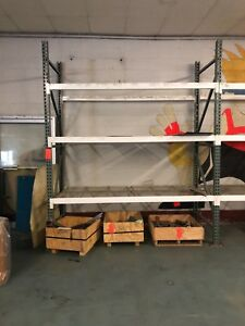 Warehouse Pallet Racking Uprights And Beams