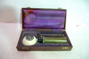 Antique Keeler Of England Otoscope Opthalmoscope In Original Box