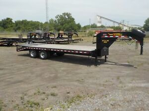 Doolittle Trailer Mfg 22k Gooseneck Bruteforce Trailer 20 5