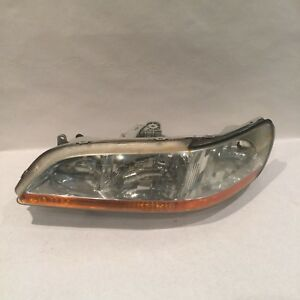 Honda Accord Headlight Left Side 4 Door 1998 1999 2000 2001 2002 Regular Oem