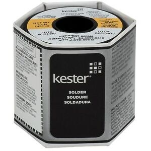 Kester 44 Rosin Core Solder Spool 1lb Activated Flux Wire Instant Wetting Action