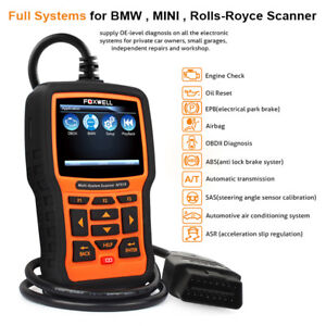Automotive Obd2 Diagnostic Tool Full System Abs Srs Airbag Epb Oil Reset For Bmw
