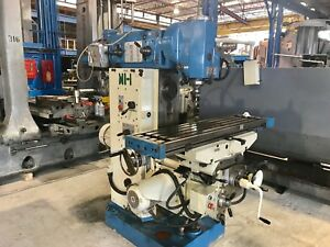 Jafo Universal Horizontal Mill With Independent Vertical Head 1998 50 Taper