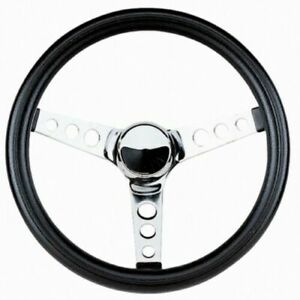 Grant Classic Steering Wheel installation Kit chrome Horn Button For F250 f350