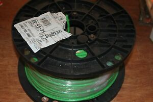 Copper Wire Spool 500 Ft 8 Awg Gauge Stranded Single Conductor Electrical Green