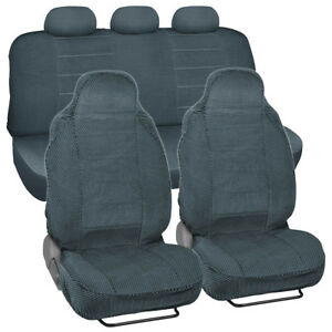 Scottsdale Car Seat Covers Front Rear Set For High Back Bucket Seats 7pc