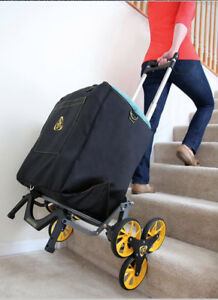 Upcart All terrain Stair Climbing Dollie Hand Cart Moves Up To 100 pounds Dolly