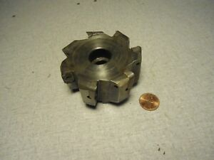 3 Ingersoll Milling Head Cutter Face Mill