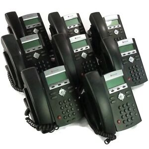 Lot Of 8 Polycom Soundpoint Ip 331 Voip 2 line Business Office Phone