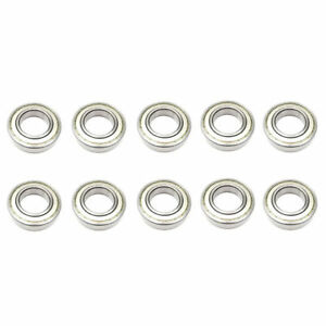 10x 6207 Zz Single Row Deep Groove Ball Bearings 35x72x17 Mm