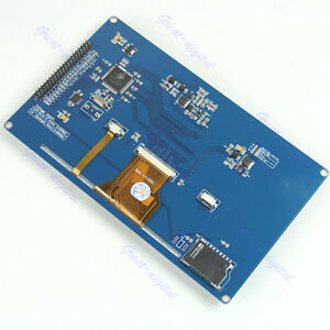 7 Inch Tft Lcd Module Display 800x480 Ssd1963 Touch Pwm Arduino Avr Stm32 Arm