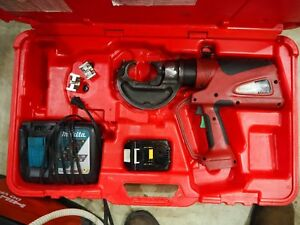 Burndy Patriot Pat 750 li 18v Hydraulic Crimper Tool