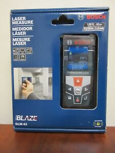 Bosch Glm 42 Professional 135 Ft Laser Measure With Full color Display