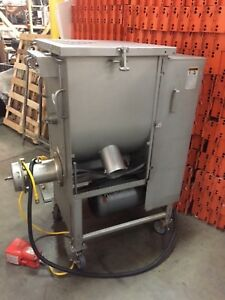 Biro Afmg 52 Meat Mixer Grinder Processor With Foot Pedal