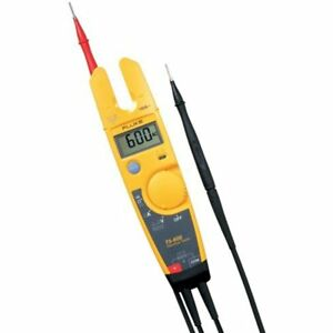 Fluke Current Testers T5 600 Usacal 600v Voltage Continuity And With Calibration