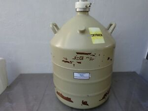 Mve Ortec Liquid Nitrogen Cryogenic Storage Flask Al 30
