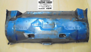 1968 Mustang Trunk Pan Rear Shock Mount Transit Panel Cut Out