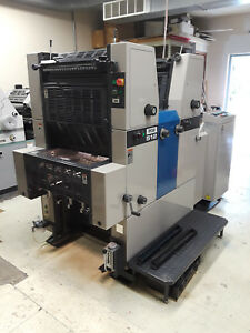 Ryobi 512 2 Color Offset Printing Press Machine Very Good Condition