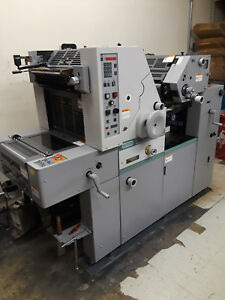 Hamada Two color Offset Press Rs34ii Good Condition And Clean