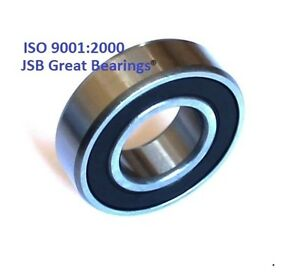 qty 100 1623 2rs Rubber Seals High Quality Ball Bearing 5 8 x1 3 8 x7 16