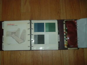 1974 Dodge Car Truck Color Trim Selector Book Challenger Polar Dart Charger
