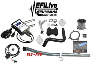 Efi Live Tuner 07 09 Dodge Ram 6 7l For Cummins Dpf Egr Delete Kit Grid Heater