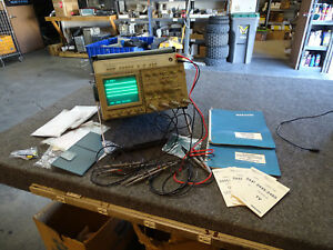 Tektronix 2465dvs 4ch Oscilloscope W 6 Probes Gpib Manuals Accs Bag