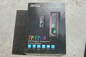 New Zkteco Tf1700 Ip65 Outdoor Fingerprint Id Door Access Control Reader Usb tcp