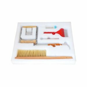 Bee Brush Uncapping Fork Queen Catcher Hive Tool Beekeeping Equipment Pack