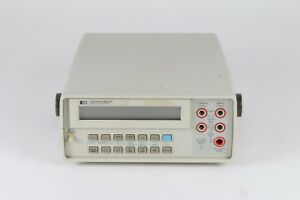 Hp Hewlett Packard Agilent 3468a 5 5 Digit Digital Multimeter Fair Condition