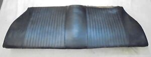 1969 Mustang Coupe Rear Seat Bottom Lower Black