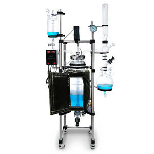 Usa Lab 50l Single Jacketed Glass Reactor