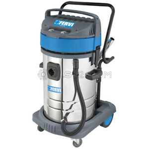 Industrial Wet And Dry Vacuum Cleaner 230v With Accessories Fervi A040 802