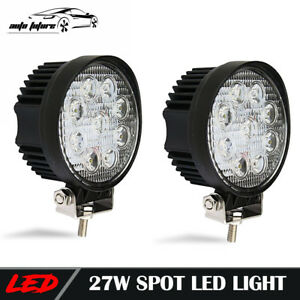 4 Inch Led Work Light Pods Cube Off Road Jeep Suv Driving Spot Fog Lights
