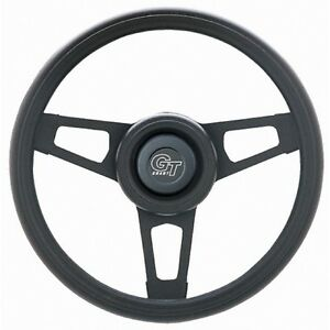 Grant 13 75 Black Steering Wheel Installation Kit Grant Horn Button For Camaro