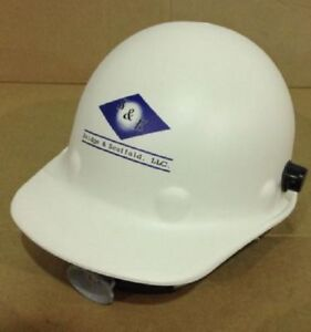 Fibre Metal P2aqrw01a5291 Head Protection White Safety Cap Hard Hat Ratchet