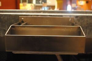 The Barkeeper Stainless Steel Bar Tool Organizer With Drip Tray New