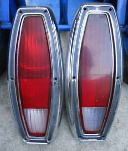 Set Of 1968 1969 Ford Ranchero Fairlane Wagon Rear Tail Lights
