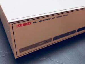 Keithley 500a Measurement And Control System Data Acquisition Dac With Cards