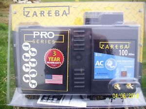 Zareba 100 Mile Low Impedance Electric Fence Charger brand New In Package