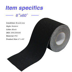 Step Safety Non skid Grit Grip Tape Roll Truck Trailer Sticker Adhesive 6 x60