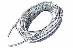 5 16 X 100 White Shock Bungee Rubber Rope Cord Woven Jacketed