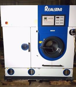Realstar M500 Dry Cleaning Machine 25kg Capacity 91095 0195 Built 2006